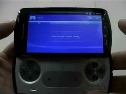 Smartphone, Playstation, Handy, Sony Ericsson, Zeus