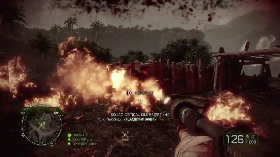 Gameplay, Battlefield Bad Company 2