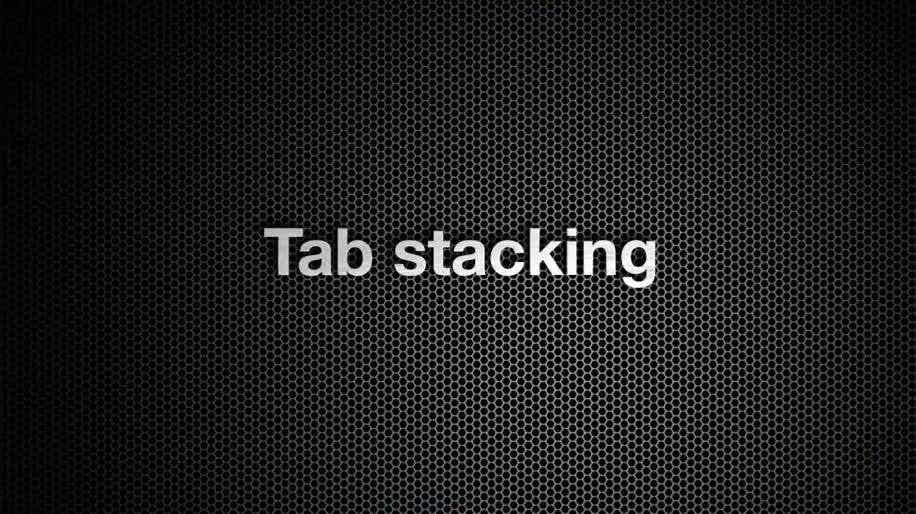 Browser, Opera, Opera 11, Tab Stacking