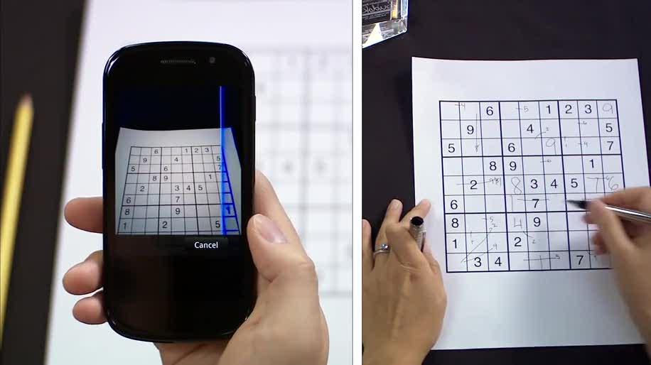 Google, Goggles, Visuelle Suche, Sudoku, Google Goggles