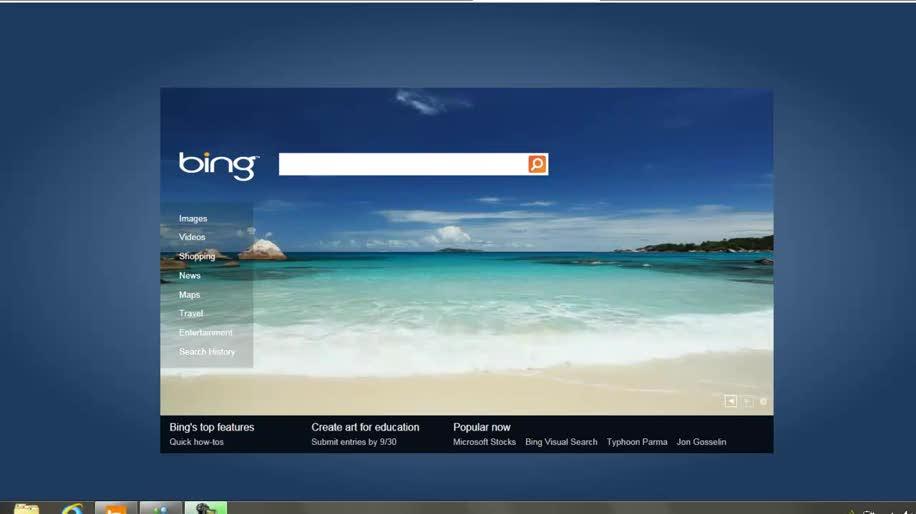 Microsoft, Browser, Bing, Internet Explorer 9, Html5, Ie9, Vorschau