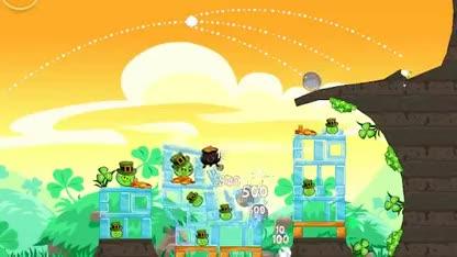Update, Angry Birds, Rovio, Angry Birds Seasons, St. Patricks Day, Seasons