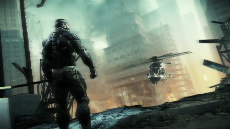 Shooter, Crytek, New York, Crysis 2, CryEngine, Nanosuit