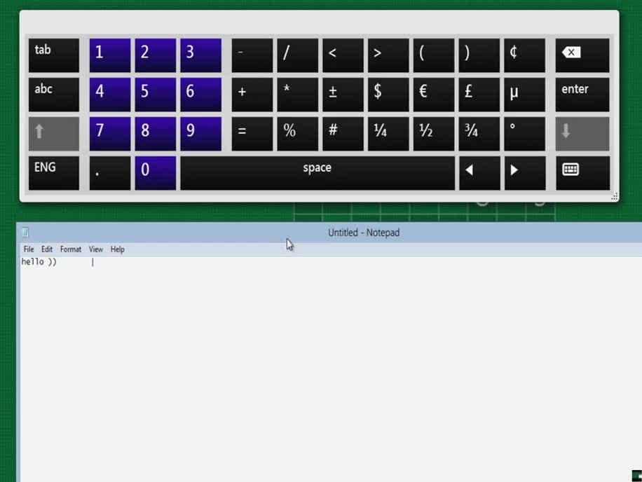 Microsoft, Windows 8, Leak, Touch, Bildschirmtastatur, Effekte, Build 7955