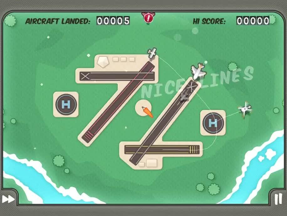 Ipad, Hd, Flight Control, Firemint