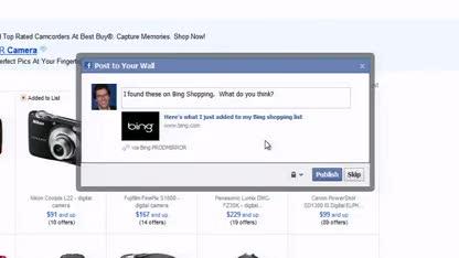 Microsoft, Facebook, Suchmaschine, Bing, Suche