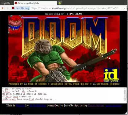 Browser, Spiel, Ego-Shooter, Doom, JavaScript