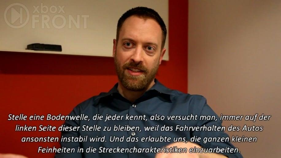 Interview, Forza Motorsport 4
