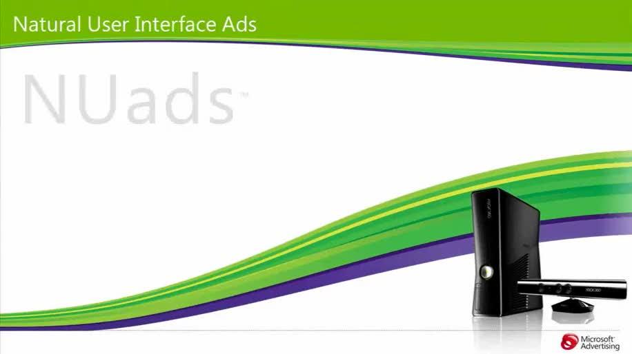 Xbox 360, Werbung, Tv, Kinect, NUAds