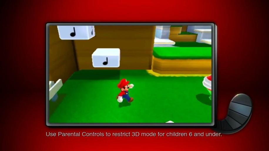 Trailer, Super Mario 3D