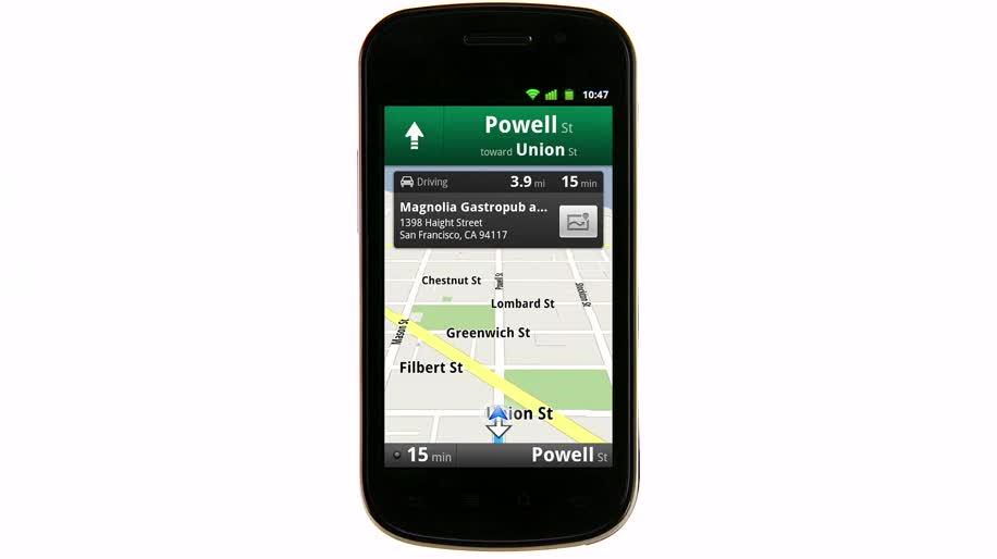 Google, Google Maps, Navigation, öffentliche Verkehrsmittel