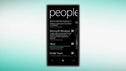 Microsoft, Windows Phone, Windows Phone 7, Twitter, Mango