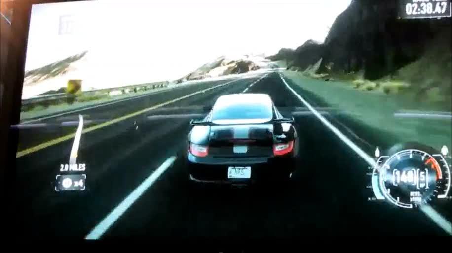 Electronic Arts, Gamescom, Rennspiel, Need for Speed, Gamescom 2011, The Run