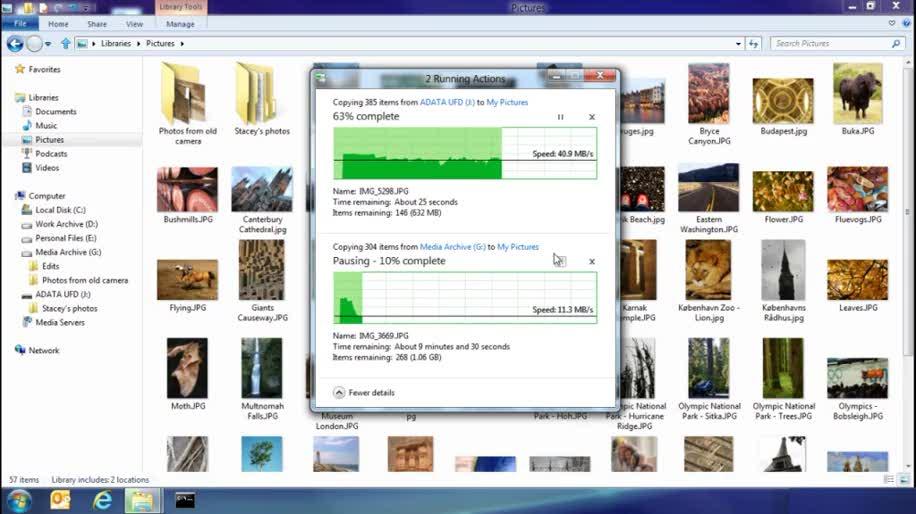 Microsoft, Windows 8, Kopieren