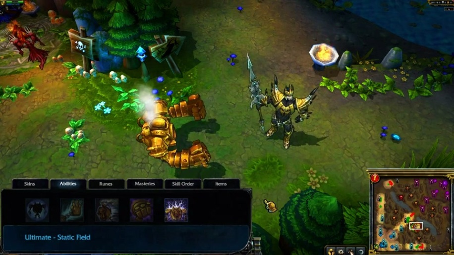 Gameplay, League of Legends