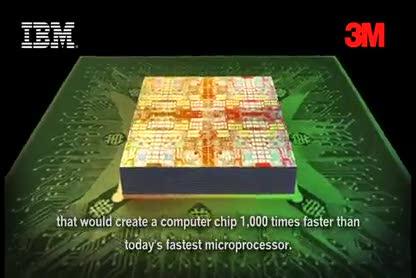 Forschung, Chip, Ibm, Halbleiter, Layer, 3m