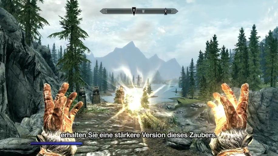 Gameplay, Skyrim, The Elder Scrolls V