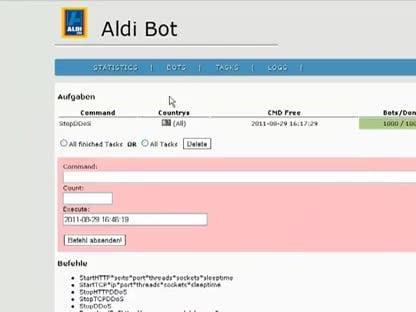 Botnetz, Aldi Bot