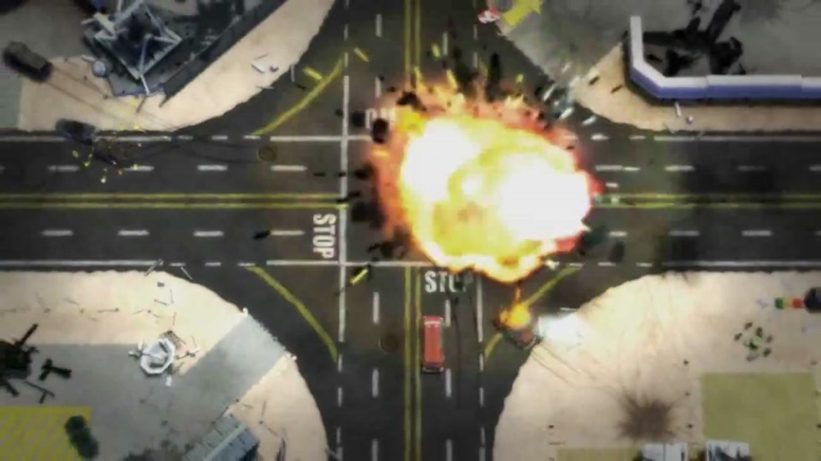 Trailer, Burnout Crash!