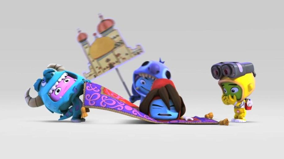 Trailer, Disney Universe - Aladdin's World