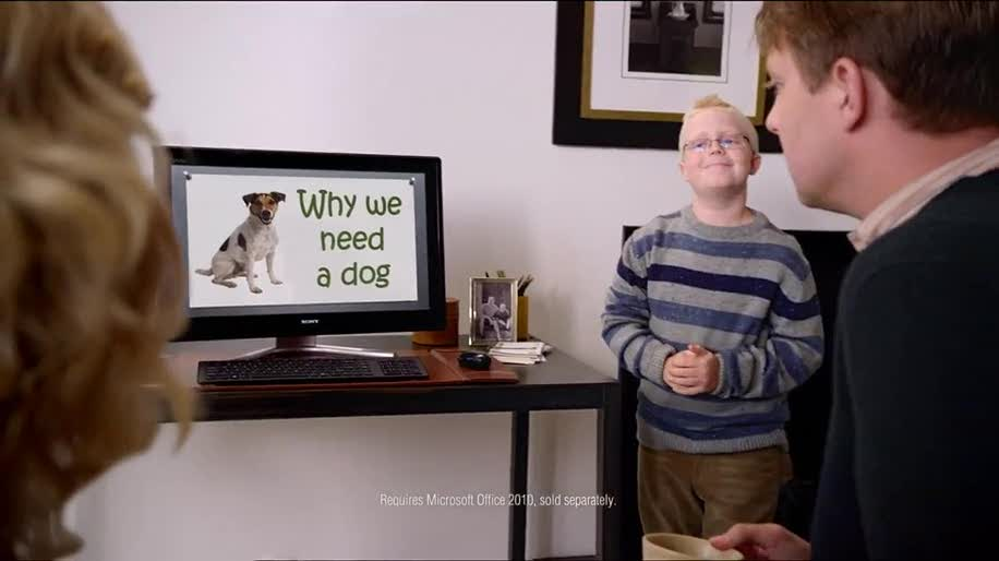 Microsoft, Windows, Werbespot, Powerpoint, Werbekampagne