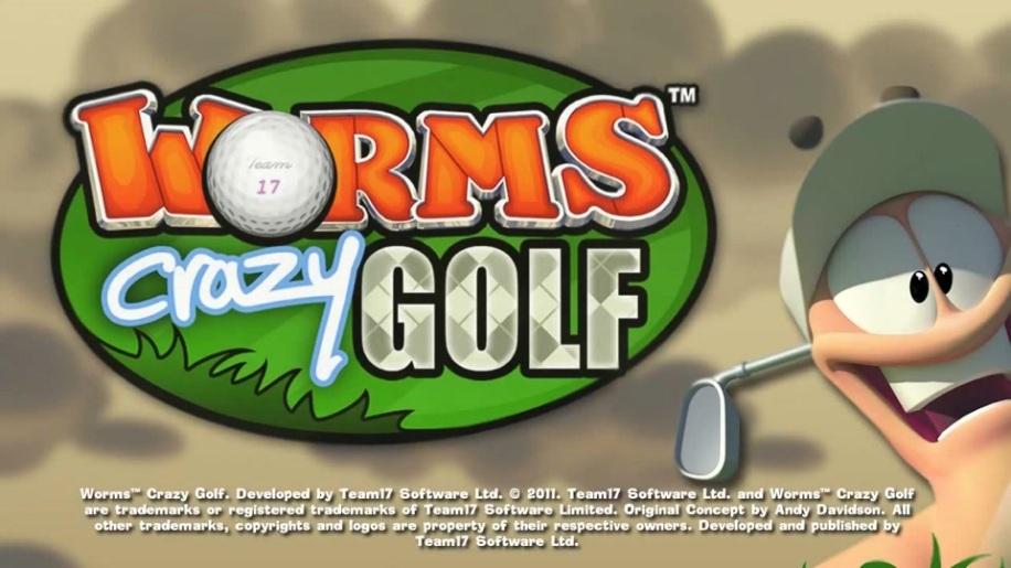 Trailer, Worms Crazy Golf