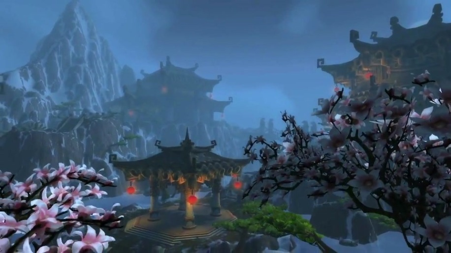 Trailer, World of Warcraft, Mists of Pandaria