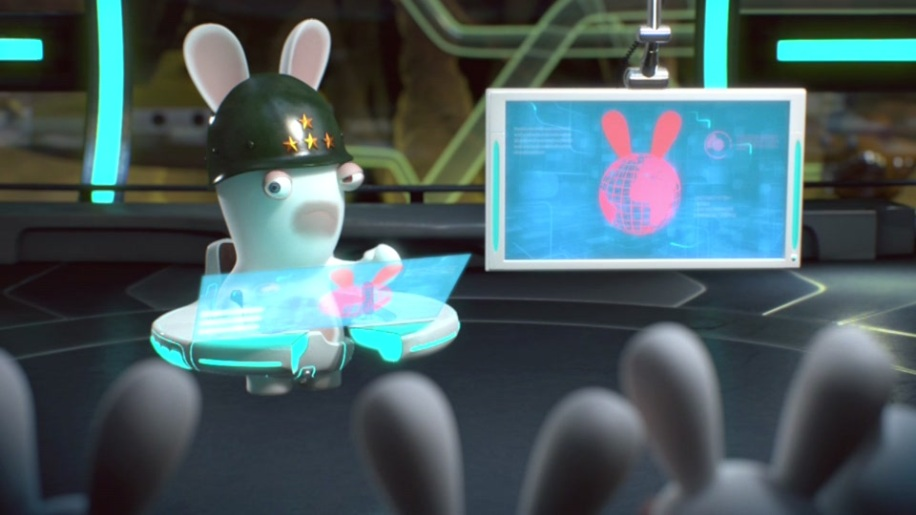 Trailer, Raving Rabbids Alive & Kicking