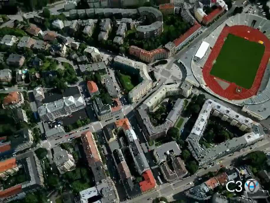 Kartendienst, Karte, Map, 3D-Kartendienst