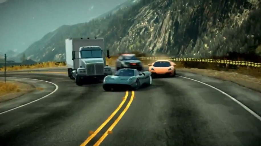 Trailer, Need for Speed, The Run