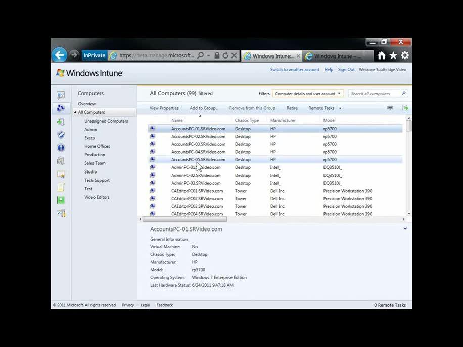 Microsoft, Cloud, Windows Intune, Intune, pc verwaltung