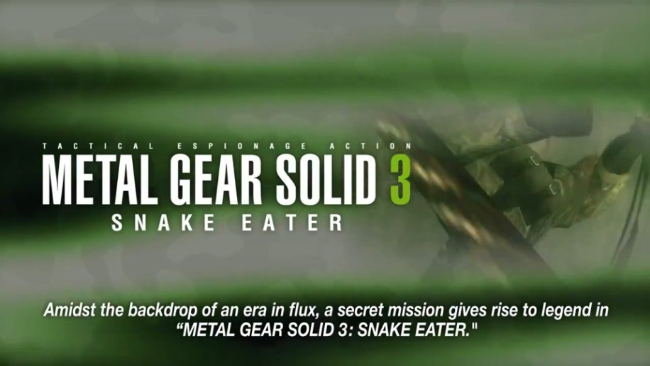 Trailer, Metal Gear Solid, HD Collection