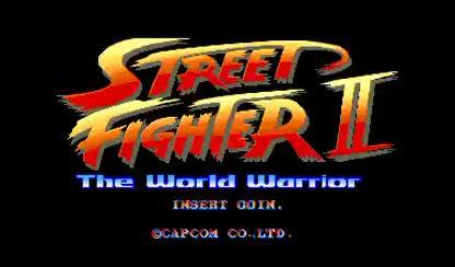 Spiel, Arcade, Street Fighter II