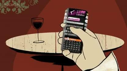 Smartphone, Nokia, Handy, Touchscreen, Konzept