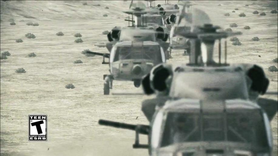 Trailer, Ace Combat Assault Horizon