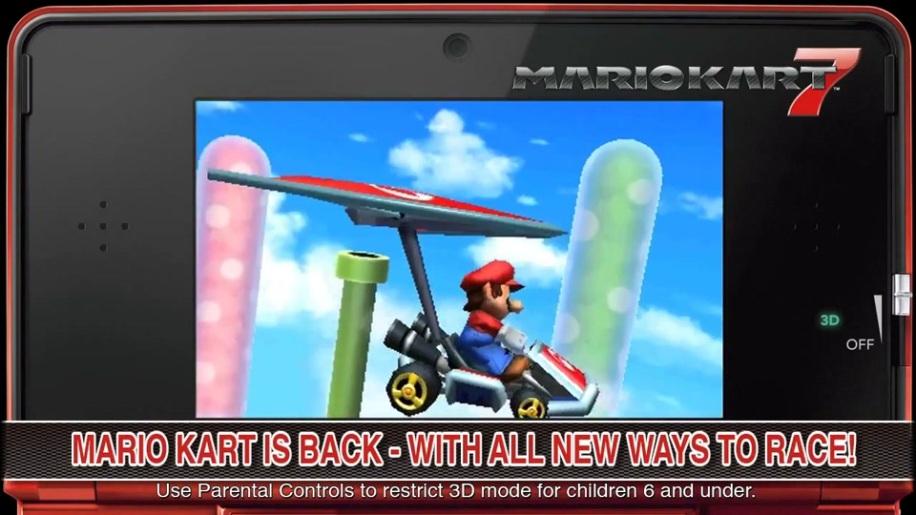 Trailer, Mario Kart 7