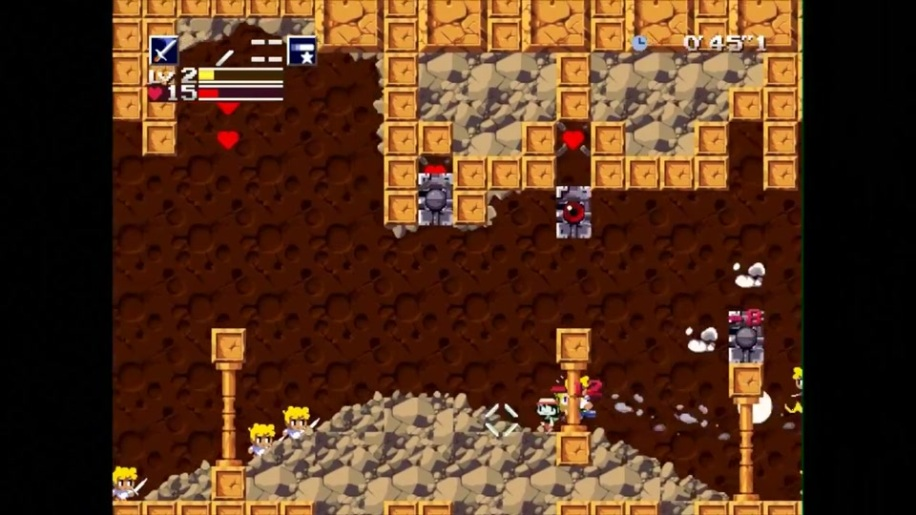 Trailer, Cave Story