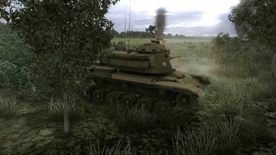 Trailer, Steel Armor, Blaze of War