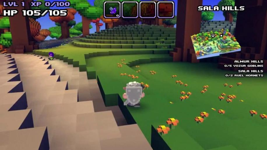 Gameplay, Cube World