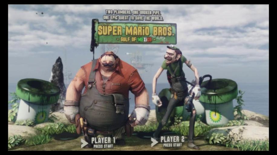 Unreal Engine, Unreal Engine 3, Super Mario Bros. -  Gulf of Mexico
