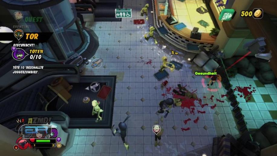 Review, All Zombies Must Die