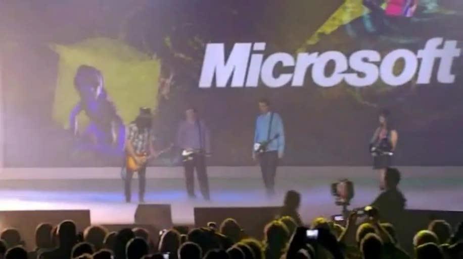 Microsoft, Ces, Bill Gates, Steve Ballmer, Keynote, Consumer Electronics Show