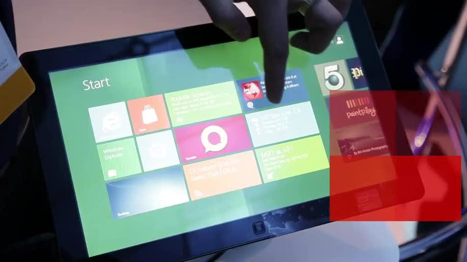 Microsoft, Samsung, Windows 8, Htc, Kinect, Ces, Metro, Las Vegas, Samsung Series 7, HTC Titan II