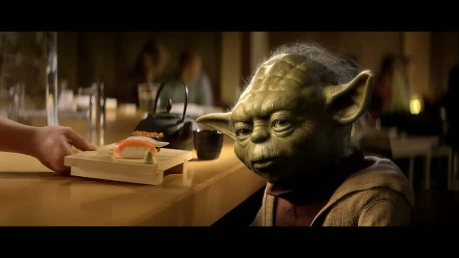 Internet, Werbung, Vodafone, Star Wars, Mobile, Yoda