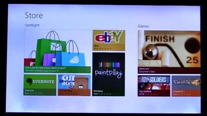 Microsoft, Betriebssystem, Windows, Tablet, Windows 8, Pc, Touchscreen, Windows Store, Demo