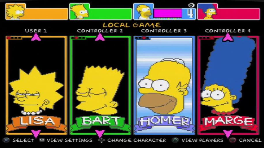 Trailer, The Simpsons Arcade
