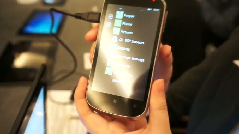 Smartphone, Windows Phone, Zte, Orbit, ZTE Orbit