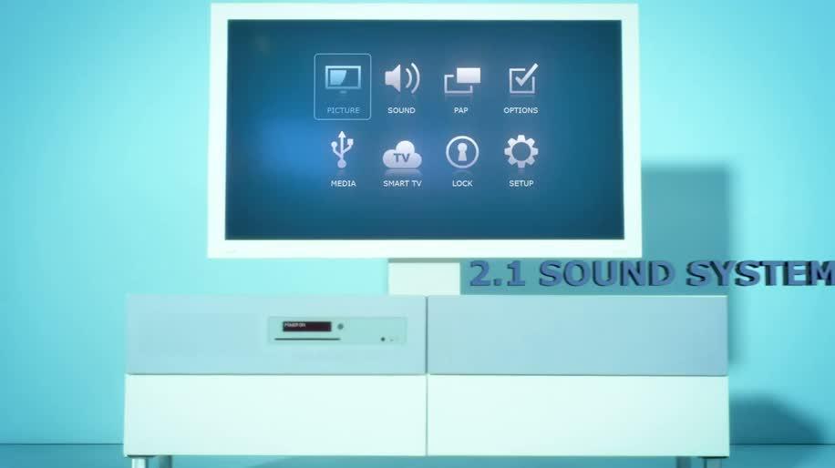 Fernseher, Player, TV-Gerät, Blu-ray, Led, Ikea, Heimkino