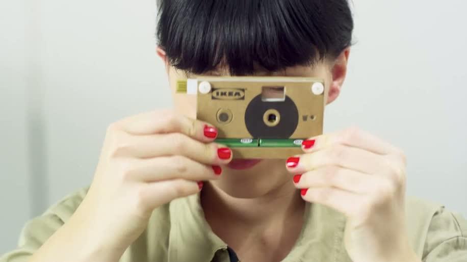 Kamera, Digitalkamera, Ikea