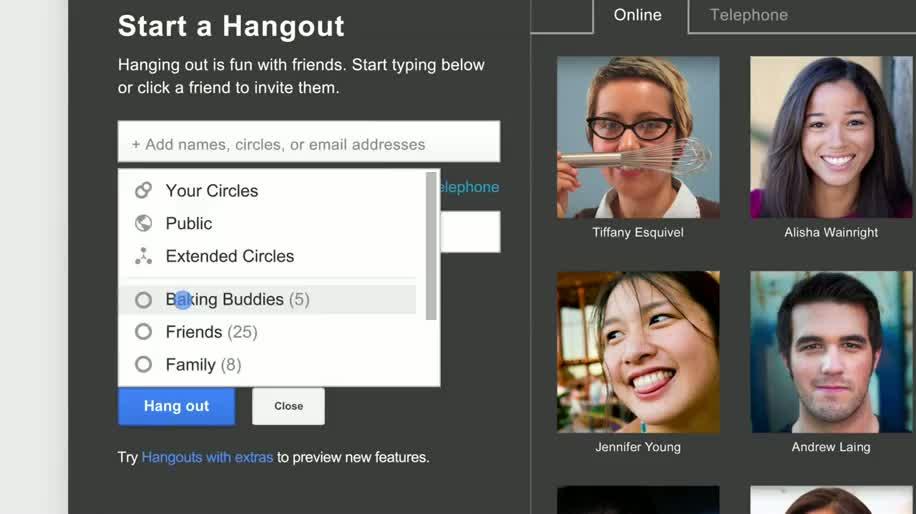 Google, Video, soziales Netzwerk, Google+, Hangouts, Live-Stream